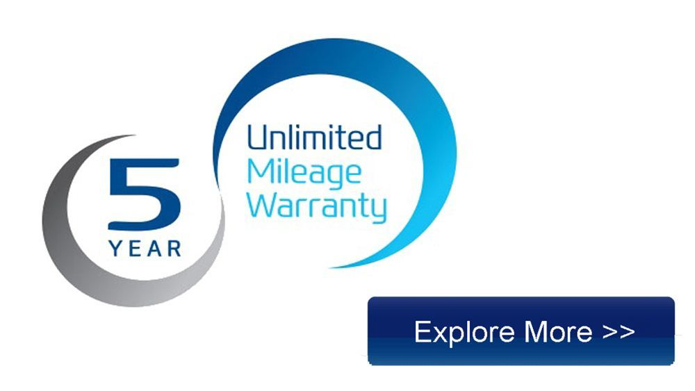 Hyundai 5 Year Unlimited Mileage Warranty